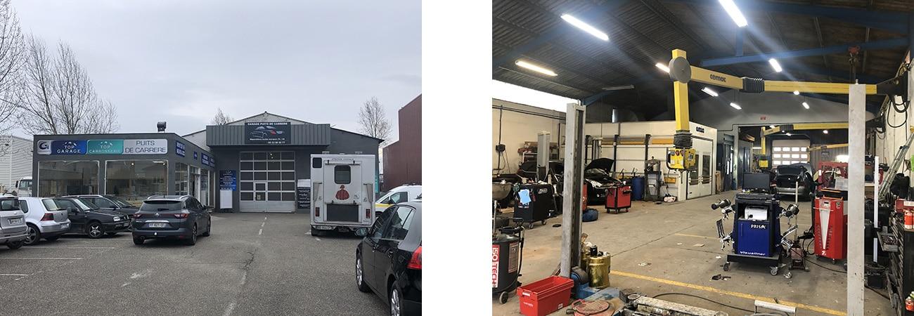 Garage Puits de Carrere